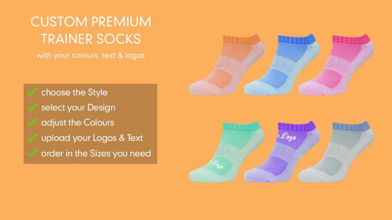 Design Your Own Trainer Socks Online! | CLIFTON