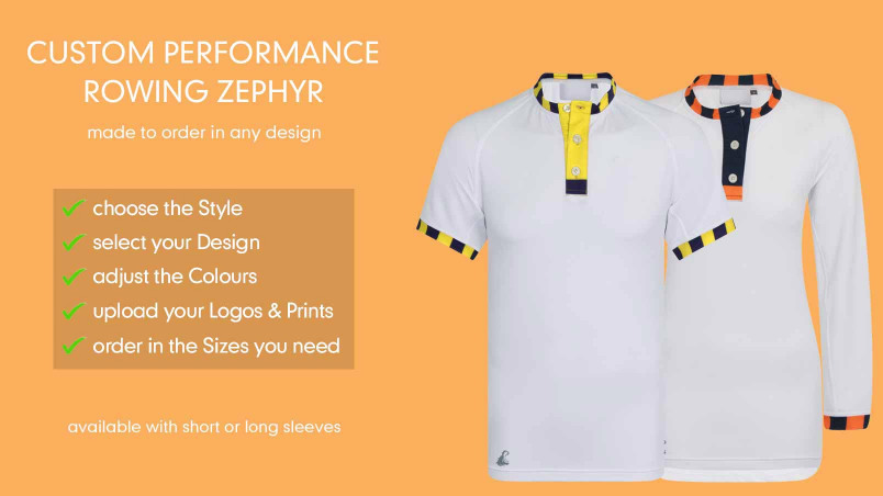 6cb98dd7efd Customised Traditional Rowing Zephyr Henley Top | CLIFTON