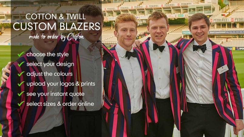 Customised Club Blazers - Rugby Blazers, Rowing Blazers